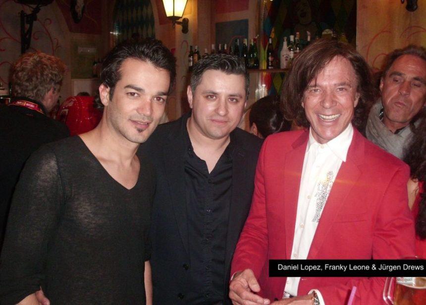 Backstage mit Jürgen Drews und Daniel Lopez im Megapark Mallorca